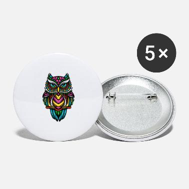 Vector owl vector - Large Buttons