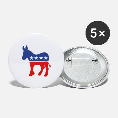 Election Democratic Ass - Large Buttons