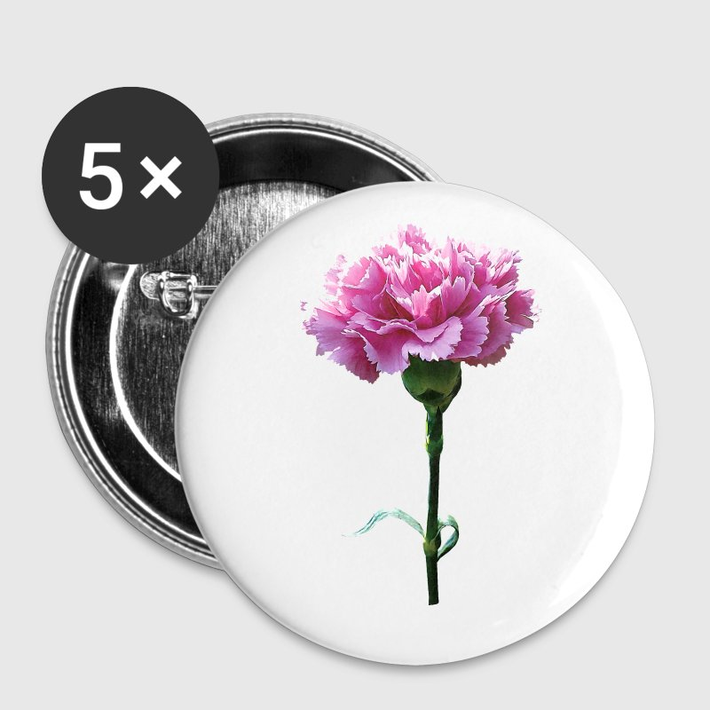 One Pink Carnation - Large Buttons