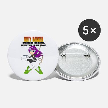 Kitty Danger Adventure - Large Buttons
