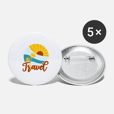 Travelling Travel - Large Buttons