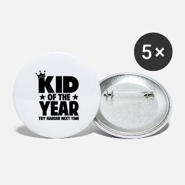 kid of the year 01 - Large Buttons
