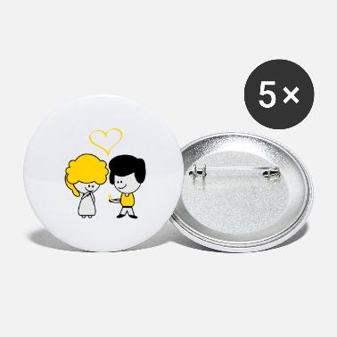 Marry married - Large Buttons