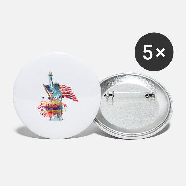 Patriot Patriotic - Large Buttons