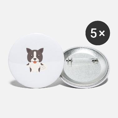 Bear Karelian Bear Dog Gift Idea - Large Buttons