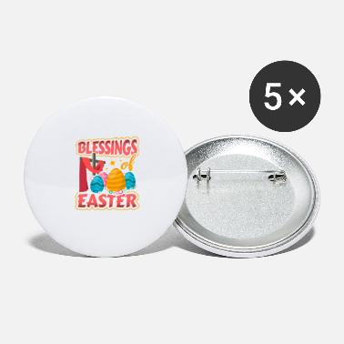 Easter Blessings of Easter - Large Buttons