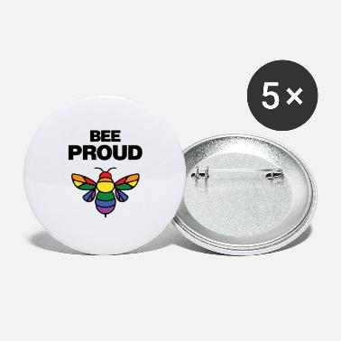 Proud Bee Proud Lgbt - Large Buttons