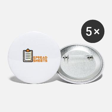 Wear Easily Distracted By Spreadsheet - Large Buttons