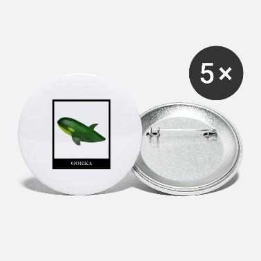 Vegan Cucumber Whale - Large Buttons
