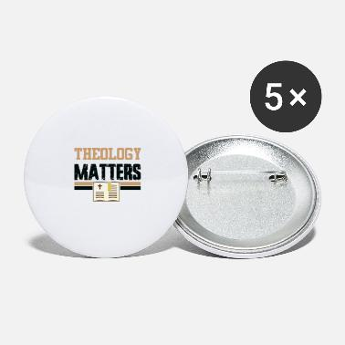 Theology Theology Matters - Large Buttons