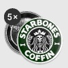 Starbones Coffin - Large Buttons
