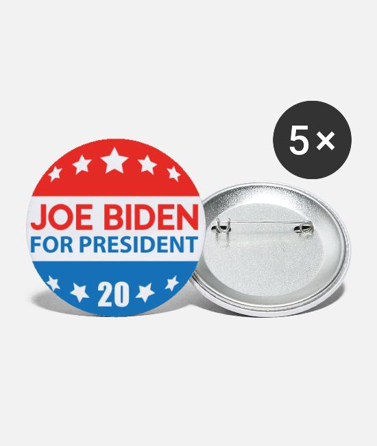 Presidential Election Buttons & Pins - Joe Biden 2020 - Large Buttons white