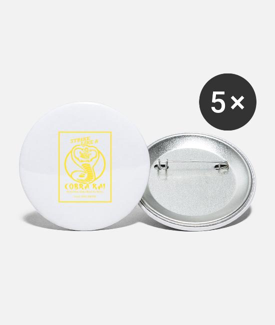 Rhineland-Palatinate Buttons & Pins - Cobra Kai - Large Buttons white