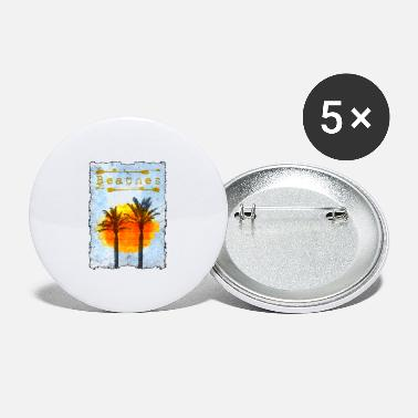 Beach Beaches - Palm Beach - Large Buttons