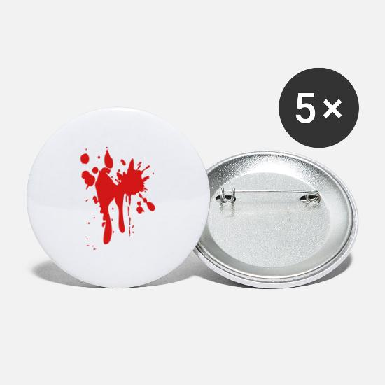 Drip Buttons - drips - Large Buttons white