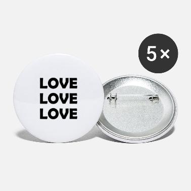 Lovely Love Love Love. - Large Buttons