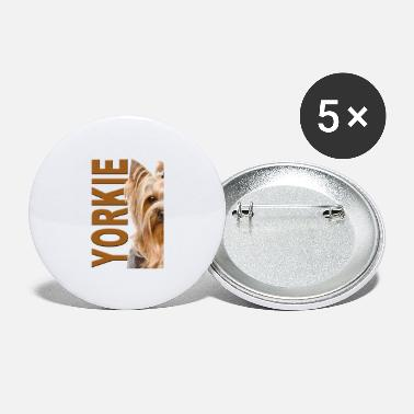 Yorkshire Terrier - Large Buttons