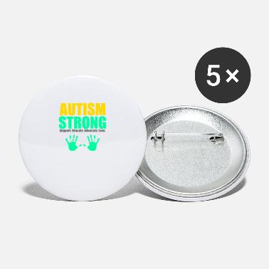 Autism Strong - Large Buttons