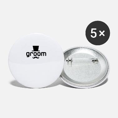 Groom groom - Large Buttons