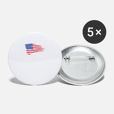 United States Of America United States Of America Flag - Large Buttons
