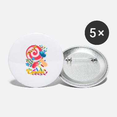Candy candies - Large Buttons
