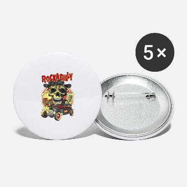 Rockabilly Rockabilly - Large Buttons
