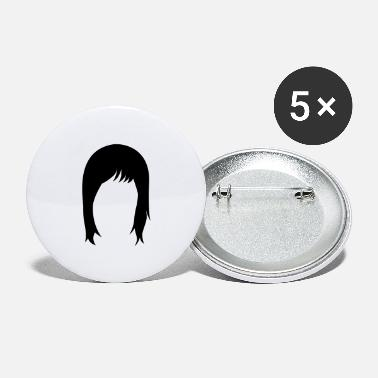 Hairstyle long hair hairstyle hairstyles - Large Buttons