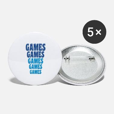 Gaming Games Games Games - Large Buttons