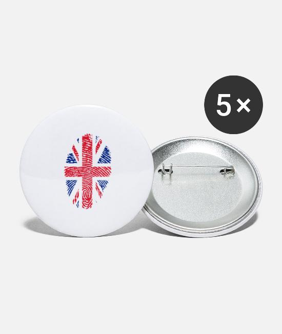 Homeland Buttons & Pins - united kingdom - Large Buttons white