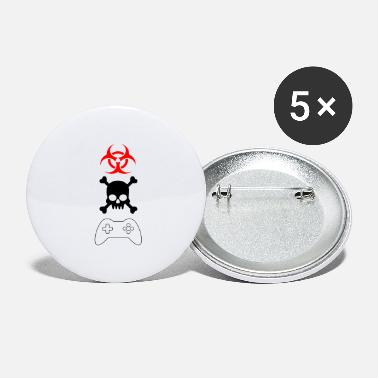 Gamer gamers gamers - Large Buttons