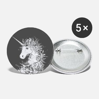 Collections Head of a unicorn - Large Buttons