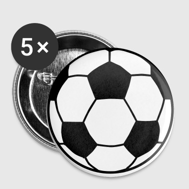 Soccer Ball Soccer Ball 2C - Large Buttons