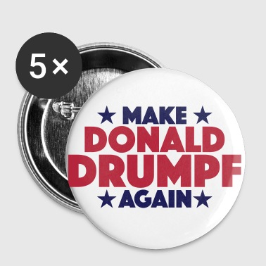 DONALD DRUMPF - Large Buttons