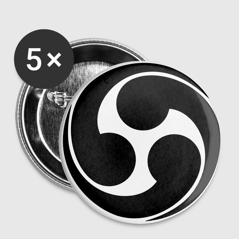 Family Symbol - Japanese - VECTOR - Large Buttons