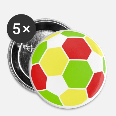 Soccer Ball Soccer Ball - Large Buttons
