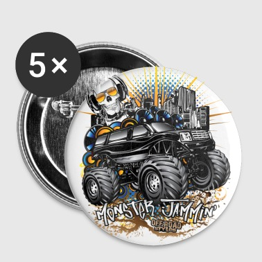 Monster Truck Cadillac - Large Buttons