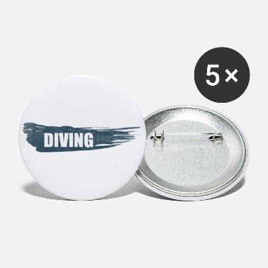 Diving DIVING dive - Large Buttons