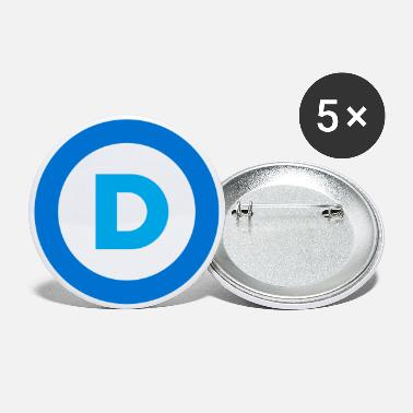Democrat Democrat - Large Buttons