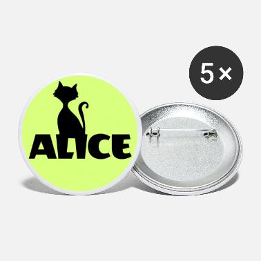 Name Day Alice First name Name Personal gift Name day - Large Buttons