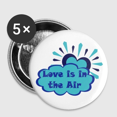Love is in the Air - Large Buttons