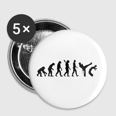 Evolution Capoeira - Large Buttons