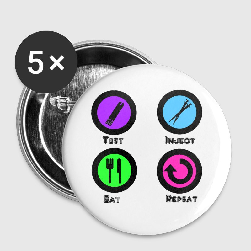 Test Inject Eat Repeat - Large Buttons