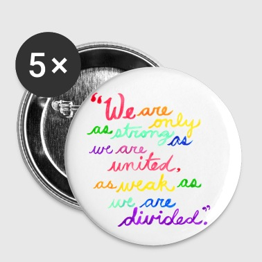 Unity - Albus Dumbledore Quote (no name) - Large Buttons