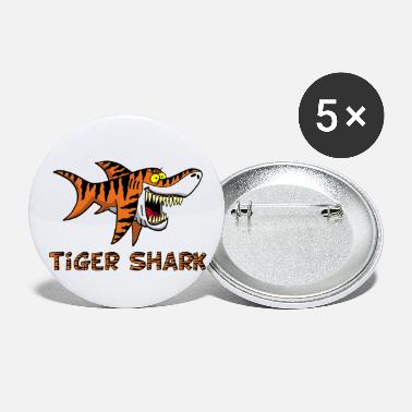 Tiger Shark Tiger shark - Large Buttons