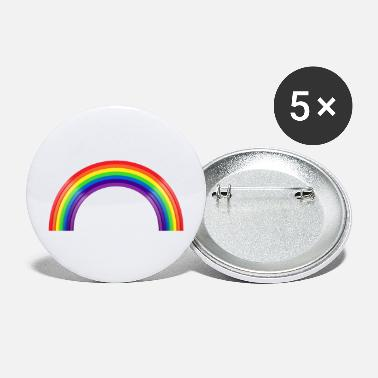 Large LARGE RAINBOW - Large Buttons