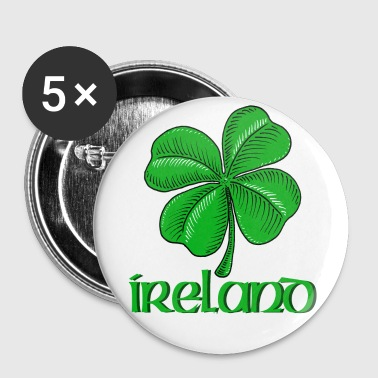 Ireland Shamrock - Large Buttons