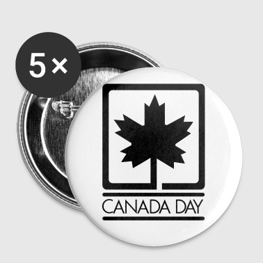 Canada Day - VECTOR - Large Buttons