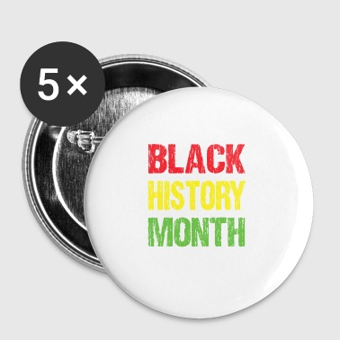 Black history month - Large Buttons