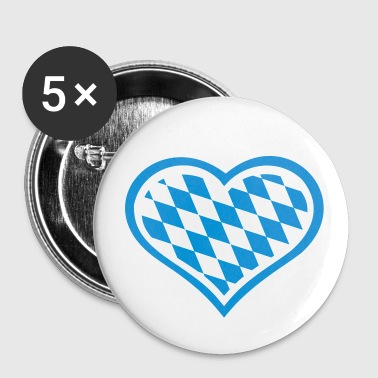 Bavaria heart - Large Buttons