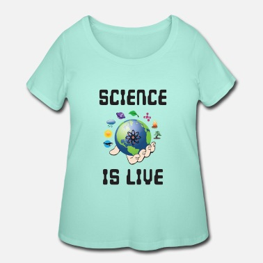 Motion Science is life - Women's Plus Size T-Shirt